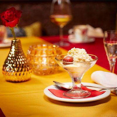 Taj Mahal Restaurant Dessert