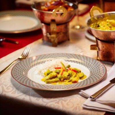 Taj Mahal Restaurant Hauptspeise