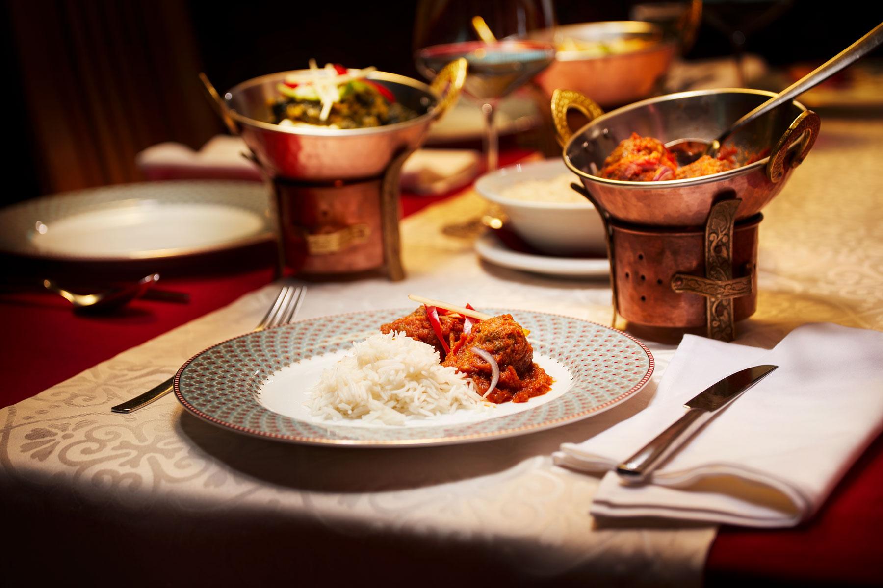 Taj Mahal Restaurant Hauptspesie