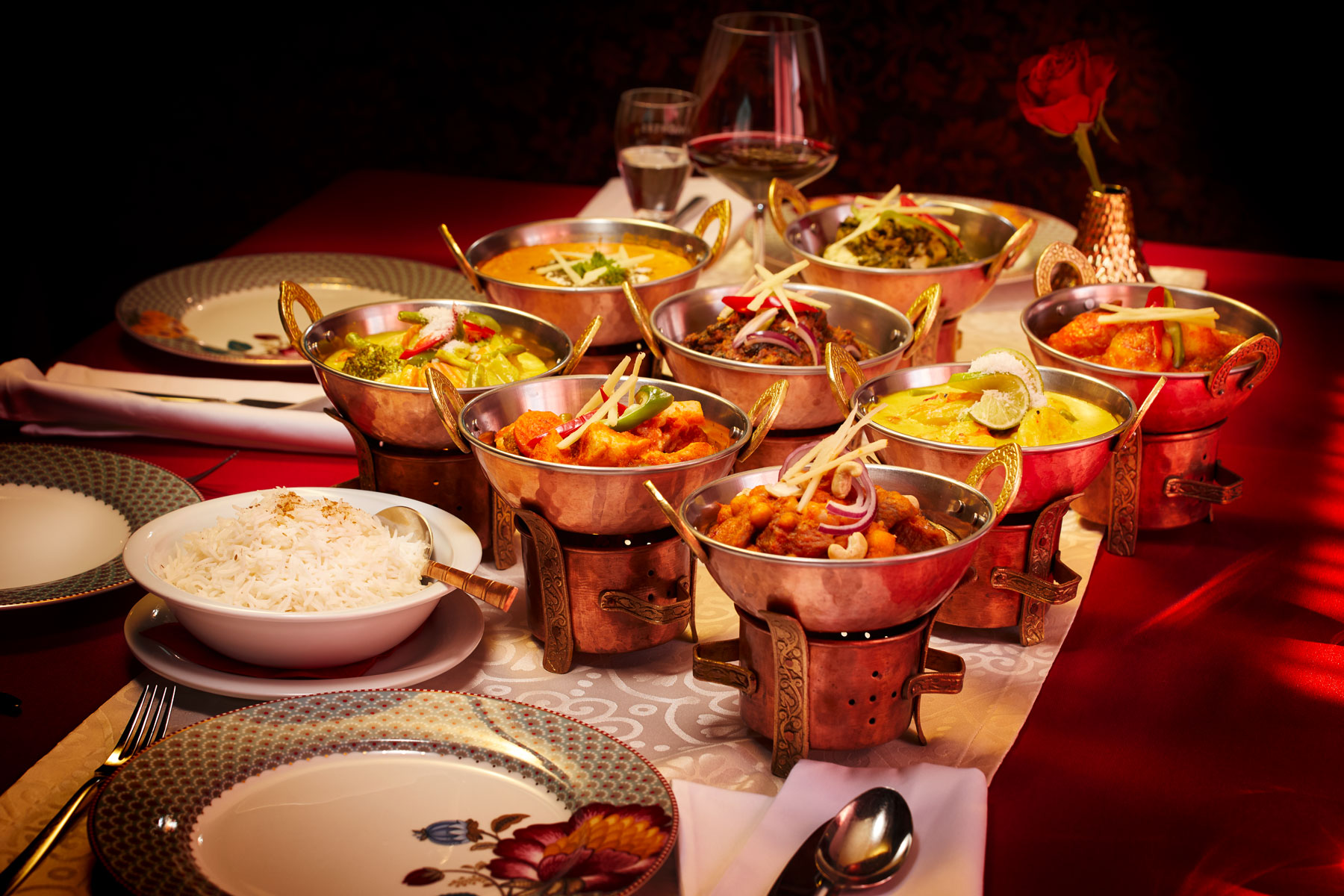 Taj Mahal Restaurant Hauptspeisen