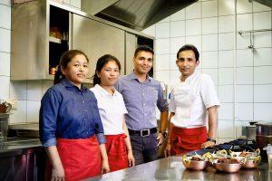 Taj Mahal Restaurant Team